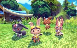 新作ゲームの写真