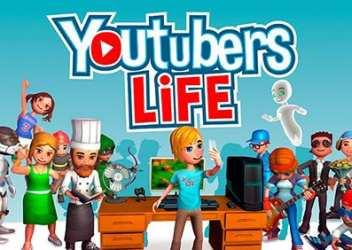【朗報】YouTuber体験シミュレーションゲーム「Youtubers Life」が100万本セールス達成!PCゲーム以外にはPS4などで楽しめるように!