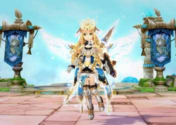 「セブンスダーク」可愛いキャラクターがハック&スラッシュでバッタバッタ敵を次々なぎ倒すMMORPG!?アニメチック系で1番アクション性が高いオンラインゲーム!